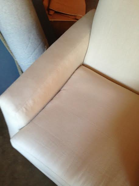 Stain Removal on Couch