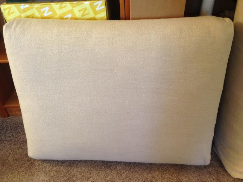 Stain Removal on Cushion