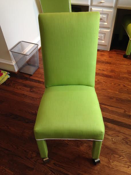 Stain Removed on Chair - Fiber Care