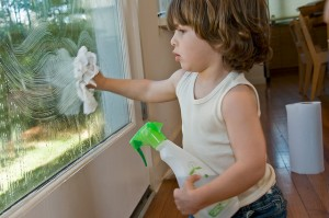 Cleaning Windows - Home Improvement